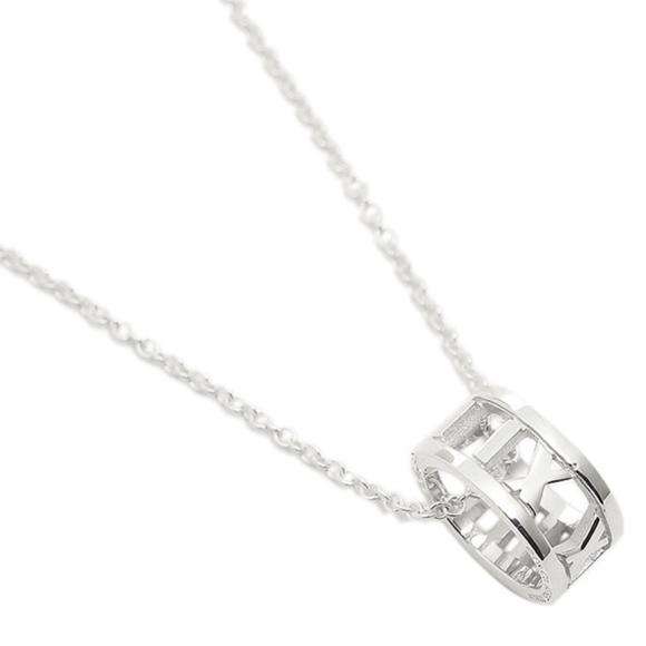 20025406e Tiffany & Co. Jewelry | Tiffany Co Atlas Open Pendant Sterling ...
